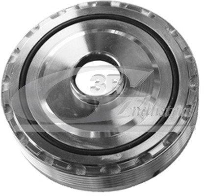 Puleggia Dell'Albero Motore 122 X 28-5Pk - 3Rg - Parti E Ricambi Auto Moto - Parti Motore Equipaggiamento del Veicolo E Altri Marchi Compatibile con Auto E Moto