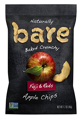 Bare Natural Apple Chips, Fuji & Reds, 1.7 oz (Pack of 10)
