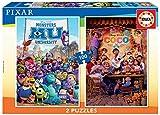 Educa- Disney Pixar Puzzles, 2x100 Piezas, Multicolor (18635)