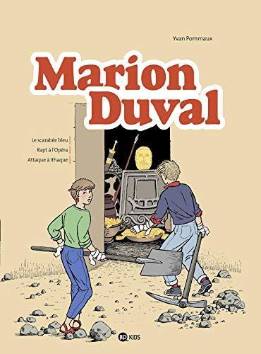 Marion Duval intégrale, Tome 01: Le scarabée bleu - Rapt à l'opéra - Attaque à Ithaque