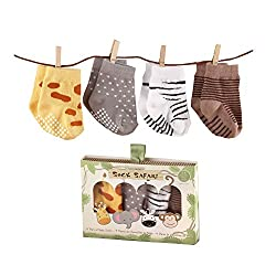 Safari Socks for Babies