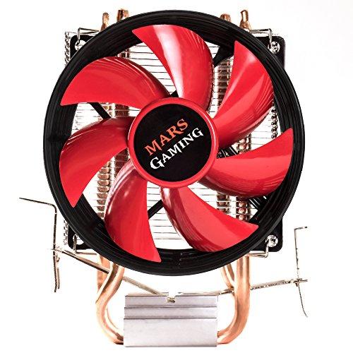 Mars Gaming MCPU117, dissipatore di calore per PC, ventola da 90 mm, tecnologia PWM, supporto AM4
