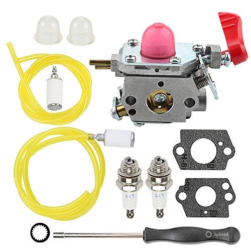 Allong W43 Carburetor for Poulan VS-2 BVM200FE Leaf Blower Craftsman Weedeater Zama C1U-W43 Poulan 545081857 Trimmer