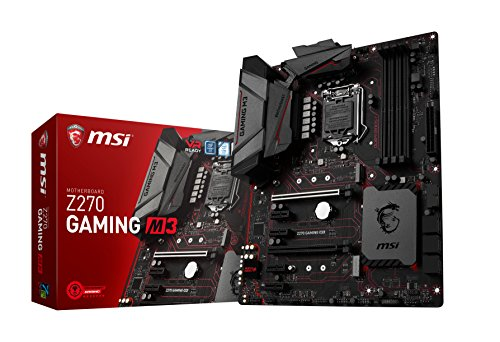 MSI Enthusiastic Gaming Motherboard Z270
