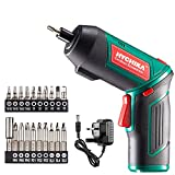 Best Electric Screwdrivers - Electric Screwdriver, 6N·m and 2000mAh HYCHIKA 3.6V Cordless Review