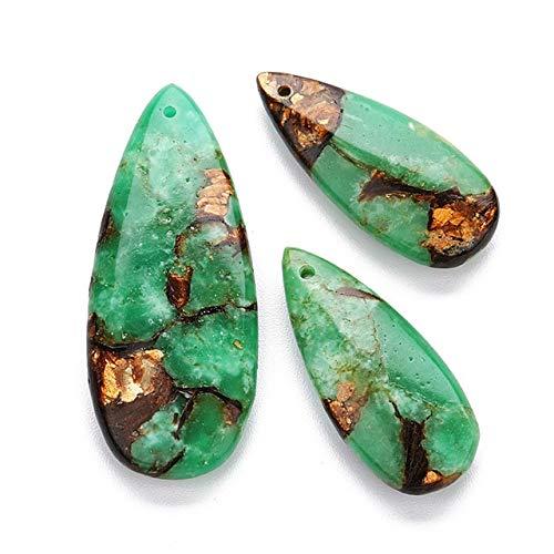 Décoratif Cristal, 10 Couleur Boucles d'oreilles en pierre naturelle Grande Goutte d'eau charme collier pendentif, collier main bricolage Bracelet Boucles d'oreilles en cristal for la guérison Décorat