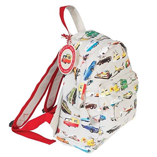dotcomgiftshop 25661 Kinderrucksack CANVAS Transport Autos und Fahrzeuge