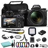 Nikon Z7 Mirrorless Digital Camera with 24-70mm Lens (1594) USA Model + Camera Bag + 72mm UV Filter + Color Multicoated 6pcs Filter Set + More