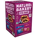 Nature's Bakery Whole Wheat Fig Bar, Convenient Bar On-To-Go,Vegan + Non-GMO, Variety Pack (Assorted...