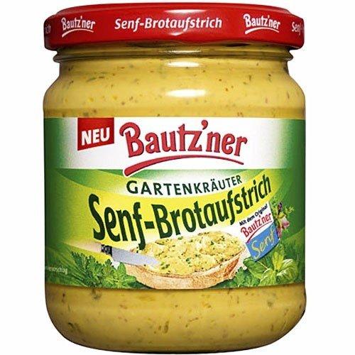 Bautzner Senf-Brotaufstrich 'Gartenkräuter' (200 ml)