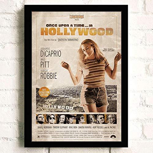 Weiteng Once Upon A Time Movie HD Canvas Poster Arte de la Pared Pintura para el hogar Decoración nórdica Hotel Bar Cafe Room 50x70 cm (19.68x27.55 in) A-194