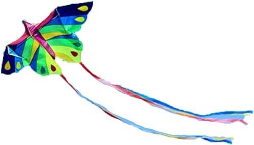 de moda TD Cometa B3850 Carrete Carrete Carrete Mariposa Adulto Niño Buena Mosca La Brisa  selección larga