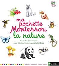 Ma pochette Montessori la nature (Pochettes Montessori) (French Edition)