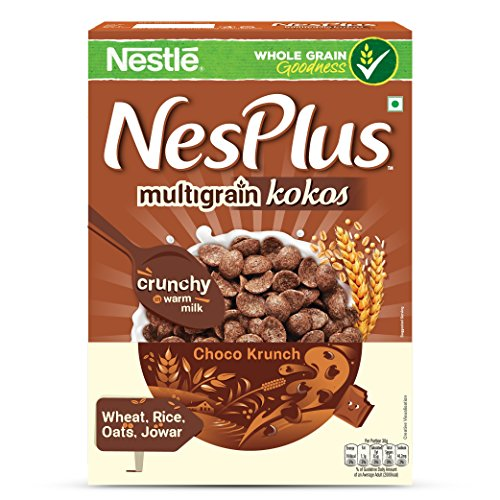 Nestle NesPlus Breakfast Cereal, Multigrain Kokos – Choco Crunch, 350g Carton
