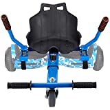 Hoverboard Go Kart, Hoverboard Accessories, Fun for Kids Fits 6.5'/8'/10',Safer for Kids,Self Balancing Scooter (Blue)