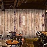 LOVEJJ Carta Parati Pavimenti in legno massiccio 300cmx210cm Fotomurali in TNT Murale alla...