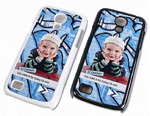 Galaxy S4 Mini Cover mit Foto selbst gestalten kompatibel mit Samsung - Smartphone schutzschale Schale schutzhülle hülle