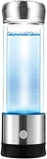 Hydrogen-Rich Generator Water Bottle PEM Technology Ionizer High Concentration Discharge Ozone and Chlorine (F5-Silver)