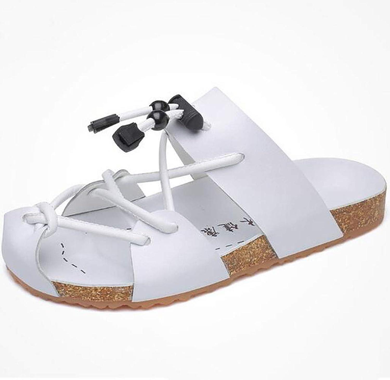 Men's Soft Veneer Sandals Fashion Trend Open Toe Beach shoes