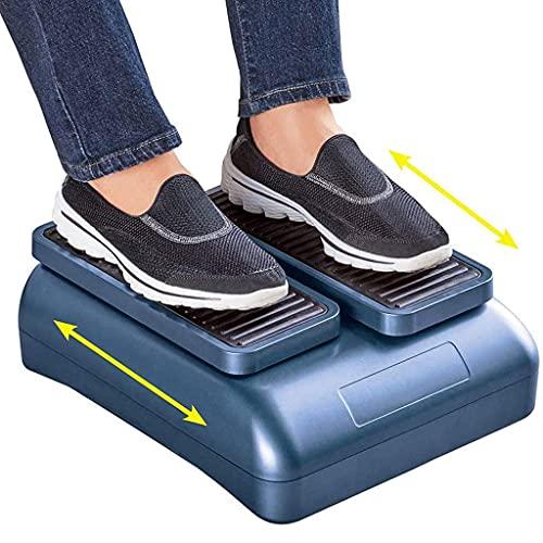 Ejercitador de circulación de piernas: Dispositivo de Entrenamiento de rehabilitación para Personas Mayores Que Aumenta la Actividad de los pies y Las piernas y el Flujo sanguíneo Mientras se Sienta