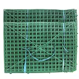 YOTHG 20pcs 60x40cm Plastic Frame for Flowers Wall Arches DIY Wedding Party Decoration Backdrop Bent sub-Rack Flower Row with 247 Nails (20pcs)