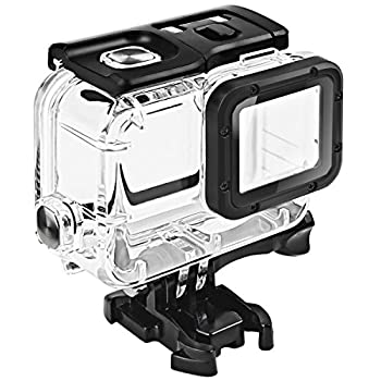 FitStill Double Lock Waterproof Housing for GoPro Hero 2018/7/6/5 Black Protective 45m Underwater Dive Case Shell with Bracket Accessories for Go Pro Hero7 Hero6 Hero5 Action Camera