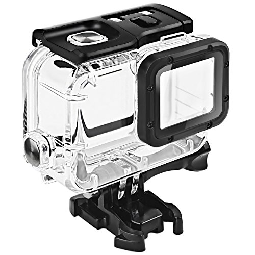 FitStill Double Lock Waterproof Housing for GoPro Hero 2018/7/6/5 Black, Protective 45m Underwater Dive Case Shell with Bracket Accessories for Go Pro...
