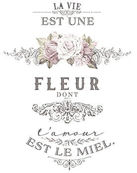 Prima Marketing 655350633004 L Amour Est Le Miel Redesign Transfer Home Décor Multicolor