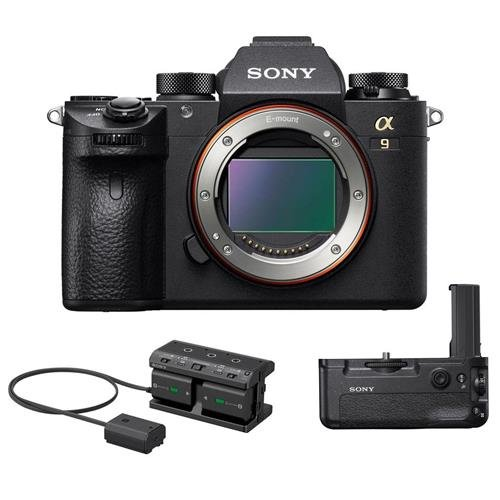 Affordable Sony Alpha a9 Mirrorless Digital Camera, Full Frame - Bundle VG-C3EM Vertical Grip, NPA-M...