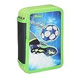 Schüler-Etui 'Fußball Goal', 3 Zipp