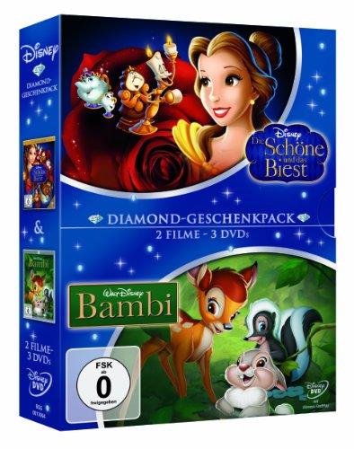 Die Schöne und das Biest / Bambi [Limited Edition] [3 DVDs]
