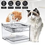 petnf 2020 Newest Upgraded Cat Fountain for Pet 100oz/3L,Dog Cat Water Fountain,Automatic Drinking