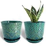Gepege Beaded Ceramic Planter