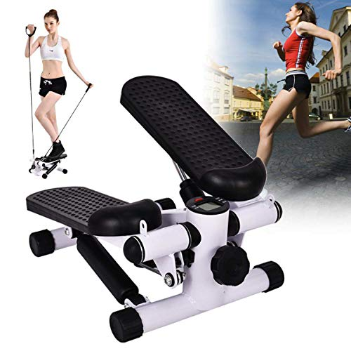 Fitness Stepper, Schaukel Stepper Mini Stepper Stepper Maschine Beine Arme Oberschenkel Toner Toning Maschine Workout Training Fitness Treppenstufen