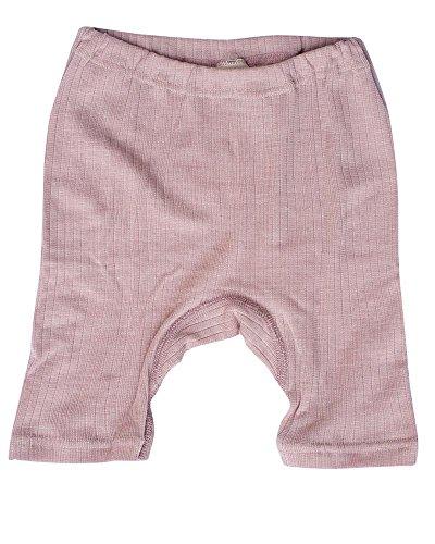 Cosilana, Kinder Radler/Panty, 45% KBA Baumwolle, 35% kbT Wolle, 20% Seide (104, Pink Meliert)