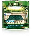 Cuprinol 2.5L Anti Slip Decking Stain - Vermont Green