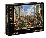 Clementoni 39391.6 - Puzzle 'Museum Kollektion - Hochzeit zu Kana, Veronese', 1000 Teile