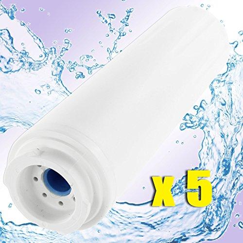 spares2go UKF8001UKF9001Kühlschrank Wasserfilter Kartusche Für Maytag/Amana Kühlschrank (1, 2, 3oder 5Stück) 5 Fridge Filters