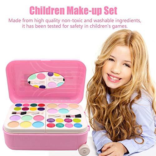 funnyfeng Kinder Kosmetik Set Kinder Kosmetik Spielzeug Set Mädchen Makeup Set Kinder Makeup Koffer Set Mädchen Pretend Spielen Makeup Set Kinder Schminke Set...