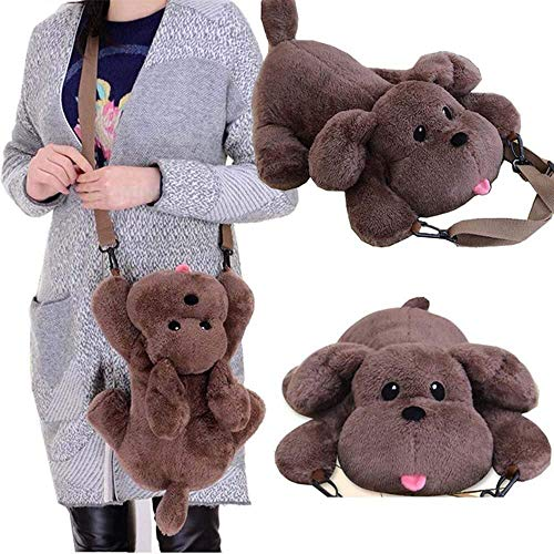 Anime YURI !!! on ICE Shoulder Bag 3D Dog Style Soft Plush Doll Toy Crossbody Bag Victor's Pet Cosplay Gift Phone Purse LATT LIV