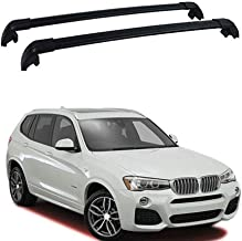 MotorFansClub Roof Rack Cross Bar Fit for BMW X3 F25 2011-2018 Baggage Luggage Crossbar