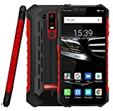 Ulefone Armor 6E IP68/IP69K Waterproof Unlocked Rugged Smartphone,4GB+64GB 6.2 inch Octa-core,16MP+2MP Dual Rear