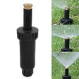 Arroseurs de pulvérisation, buse de pulvérisation escamotable ajustable à 90/180/360 degrés, buse d'irrigation rétractable automatique, système d'arrosage pour jardin avec gazon, 90 degrees