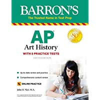 AP Art History: With 5 Practice Tests (Barron's Test Prep) Kindle Edition by John B. Nici for Free