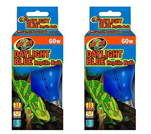 Zoo Med Daylight Blue Reptile Bulb [Set of 2] Watt: 60 Watts