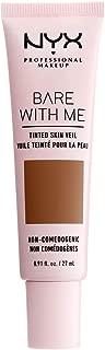 NYX PROFESSIONAL MAKEUP Bare with Me Tinted Skin Veil, Deep Mocha, 0.9 Fluid Ounce