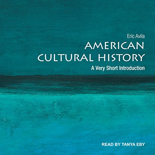 American Cultural History audiobook cover art