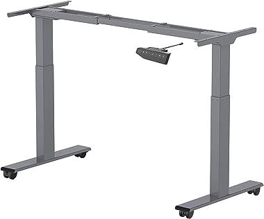 Flexispot elektrisch stufenlos höhenverstellbares Tischgestell, höhenverstellbarer Schreibtisch, passt für alle gängigen Tisc