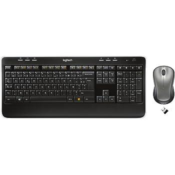 Logitech Wireless Combo MK520 Ensemble clavier + souris Touches Incurve keys Unifying AZERTY Noir