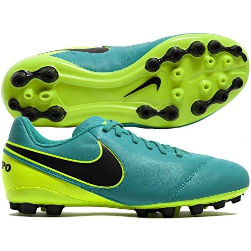 Nike Unisex Kinder Jr Tiempo Legend VI AG Fußballschuhe, Verde (Clear Jade/Black-Volt), 33 EU